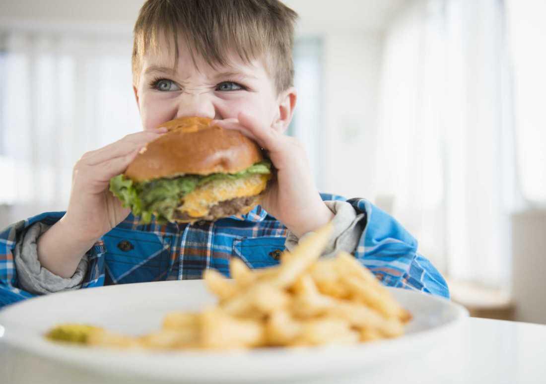 частое употребление фаст-фудов и другой уличной еды не рекомендовано детям