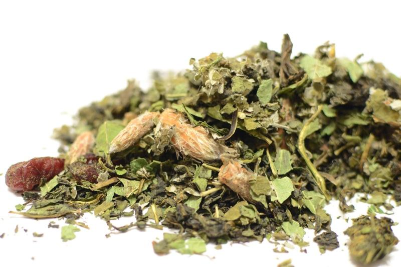 Травяные сборы, в составе которых крифея, кукурузные рыльца, ромашка полевая, подорожник, мята перечная