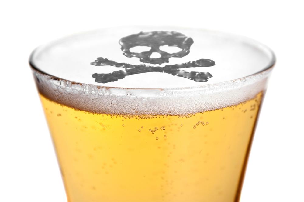 Вне зависимости от крепости и количества алкоголь противопоказан