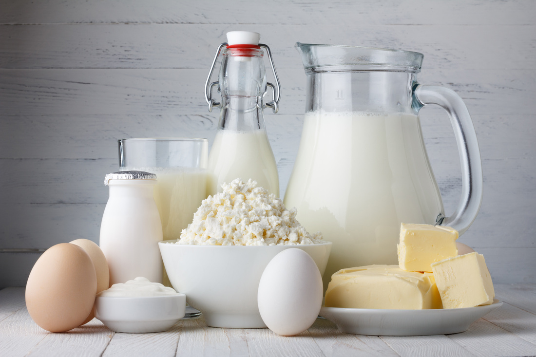 Включите в меню нежирный творог, молоко и яйца