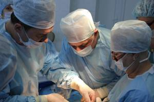 При обнаружении кисты необходима операция
